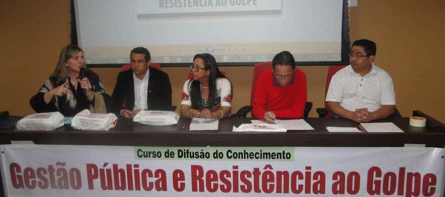 Zé Paulo participa da abertura do Curso de Gestão Pública e Resistência ao Golpe (02/09)