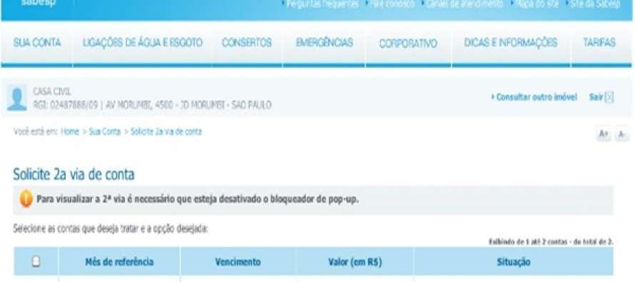 Demagogia Tucana: Conta de água do Palácio dos Bandeirantes sobe 13,4%