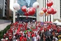 Ato contra o golpe e em defesa da Petrobras