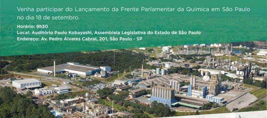 Deputado Luiz Turco convida: FRENTE PARLAMENTAR DA INDÚSTRIA QUÍMICA NO ESTADO DE SÃO PAULO