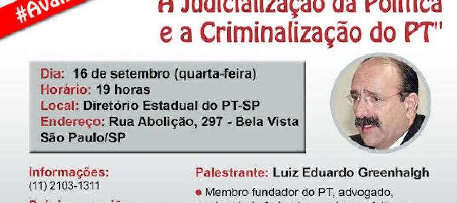 PT Santo André Convida: 12ª edição do Fórum de Conjuntura Eleitoral do PT-SP