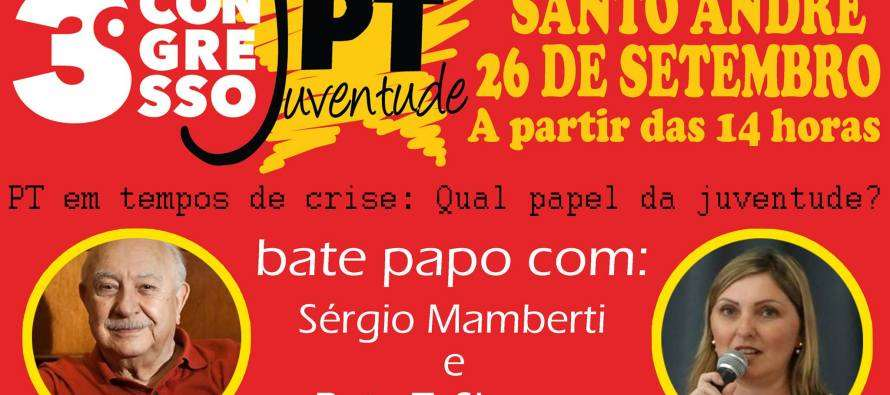 Juventude Santo André convida: Bate papo com Sergio Marberti e Bete Siraque