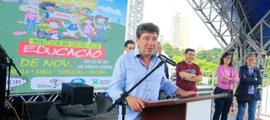 #GovernoGrana: Prefeito Carlos Grana (PT), realizou 2ª Mobilização Social pela Educação de Santo André