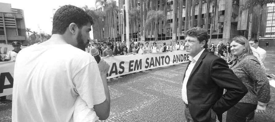 #GovernoGrana: Prefeito Carlos Grana participa de ato contra fechamento de escolas estaduais
