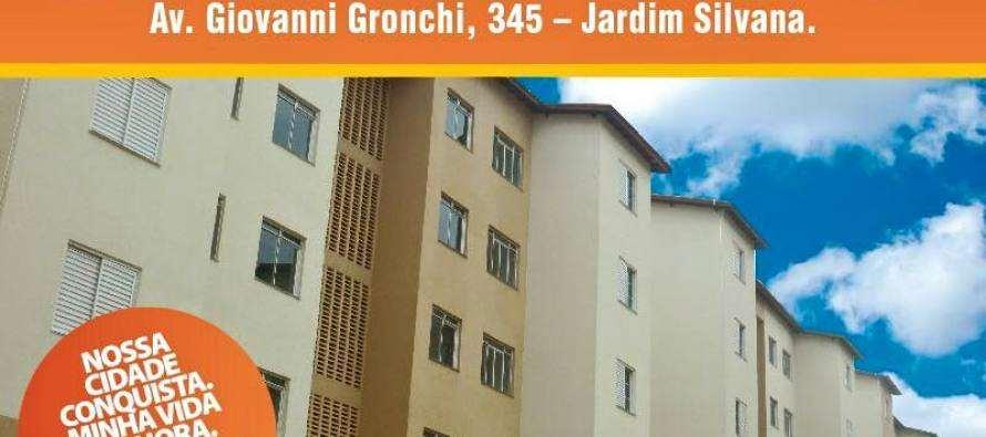 #AgendaSantoAndré: Prefeitura entrega neste sábado (28), 176 unidades do Conjunto Habitacional Procópio Ferreira