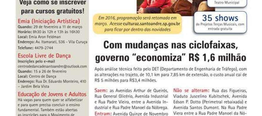 [BoletimRegionalPT] Deputado Luiz Turco destaca a revolução Cultural do Governo Grana em Santo André