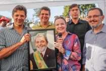 PT reafirma candidatura de Lula e lança plano de governo