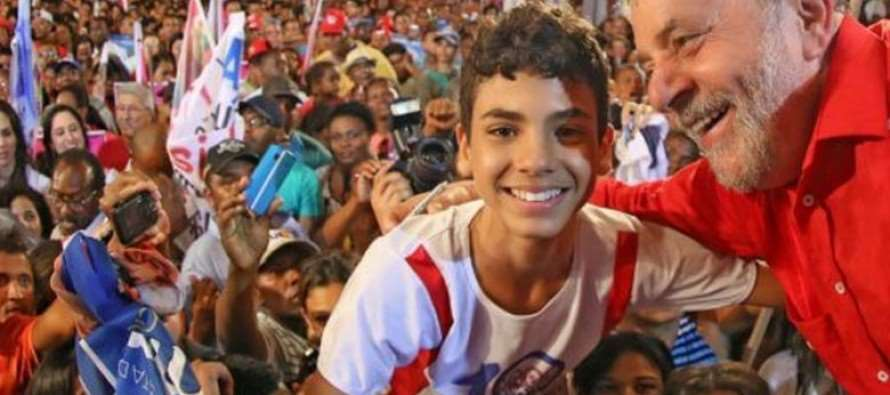 """Lula começa """"Caravana da Esperança"""" por Salvador (BA) nesta quinta (17)"""
