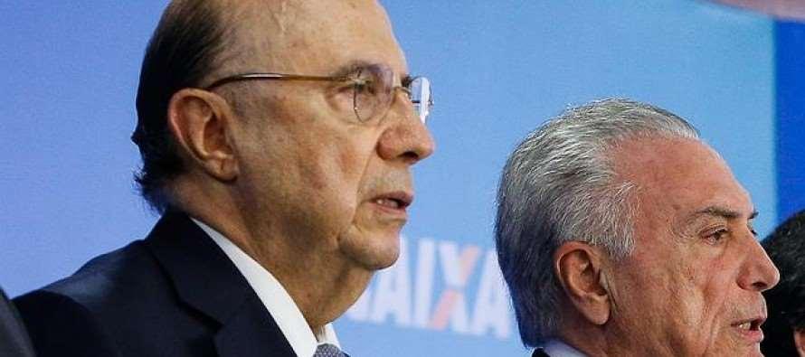 Fracasso da política econômica golpista: Meirelles anuncia rombo de R$159 bilhões para 2017 e 2018