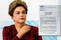 CUT mira ação popular para anular o golpe contra a presidenta Dilma