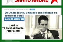 Falta de transparência: Gestão Paulinho Serra (PSDB) fechou unidades de Saúde sem licitação ou estudo de obras