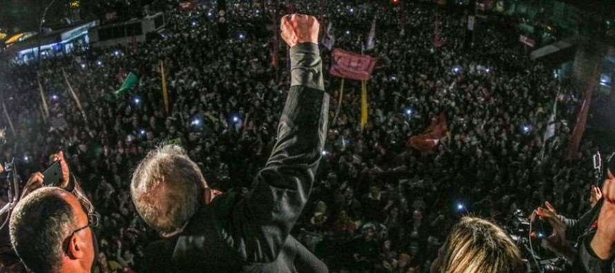 """Lula: """"O tempo que eu tiver vou dedicar a recuperar os direitos dos trabalhadores"""""""