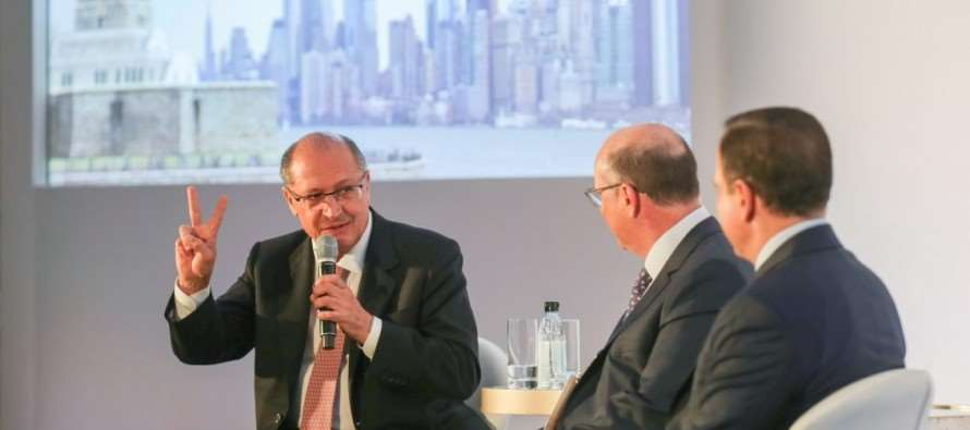 Alckmin já foi escolhido como o candidato do PIB e da Globo para 2018