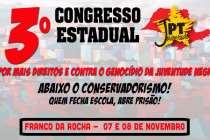 #3ConJPT: Franco da Rocha sediará o 3º Congresso da Juventude do PT paulista