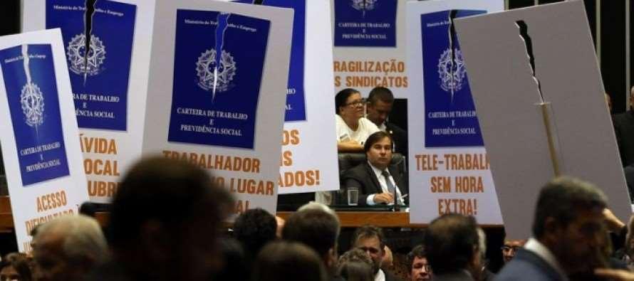 Resistências jurídica, sindical e institucional enfrentam reforma trabalhista