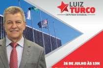 Luiz Turco (PT) inicia Prestação de Contas do Mandato nesta quarta (26)