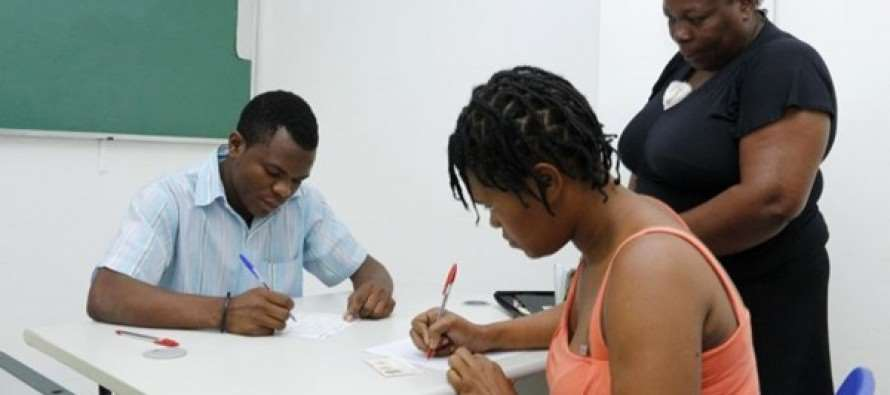Em Santo André, Haitianos ganham mais um curso de Português