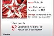 Santo André: Ciro Marcondes Filho participa de debate em Etapa do 5º Congresso do PT neste sábado (30 /05)