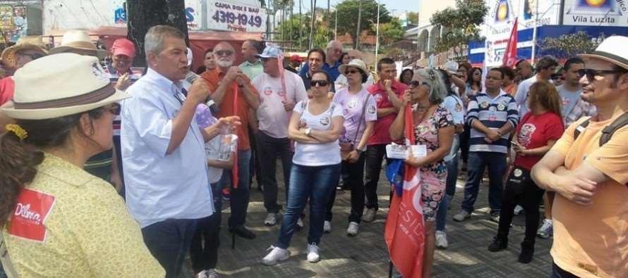 Turco realiza mobilizações para campanha a reeleição de Dilma