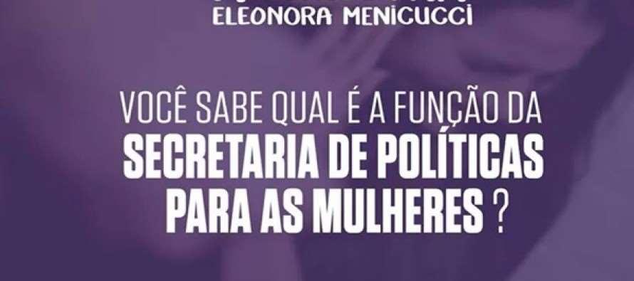 Ministra Eleonora Menicucci conversa com internautas hoje as 16h