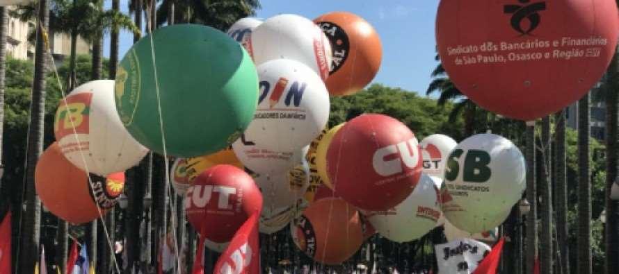 Jornada de manifestações pelo Brasil contra reformas de Temer