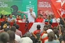 Lula: Temos que Garantir a qualidade da educação para que as conquistas não se desfaçam