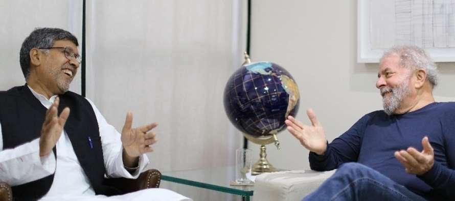 Prêmio Nobel da Paz convida Lula a participar de conselho global pelos direitos das crianças