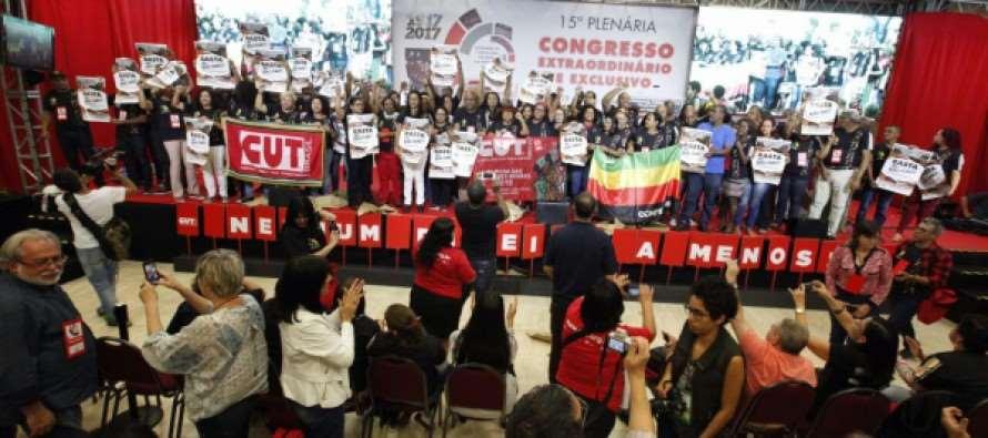 Contra governo Temer, CUT lança calendário de mobilizações contra reformas e privatizações