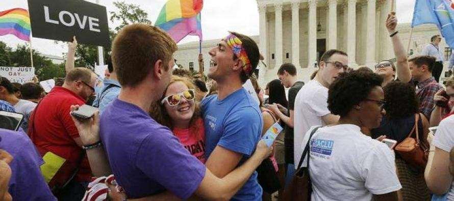 EUA legalizam casamento entre pessoas do mesmo sexo
