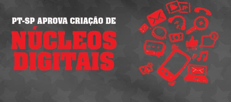 PT-SP lança Núcleos Virtuais no dia 7 de agosto