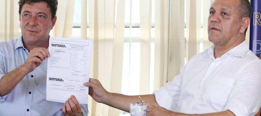 #GovernoGrana: Prefeito Carlos Grana (PT), acionará Justiça contra os preços abusivos e falta de transparência da SABESP na cidade