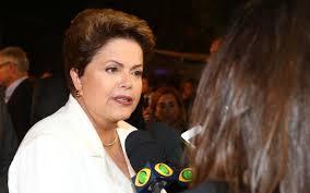 A presidenta Dilma