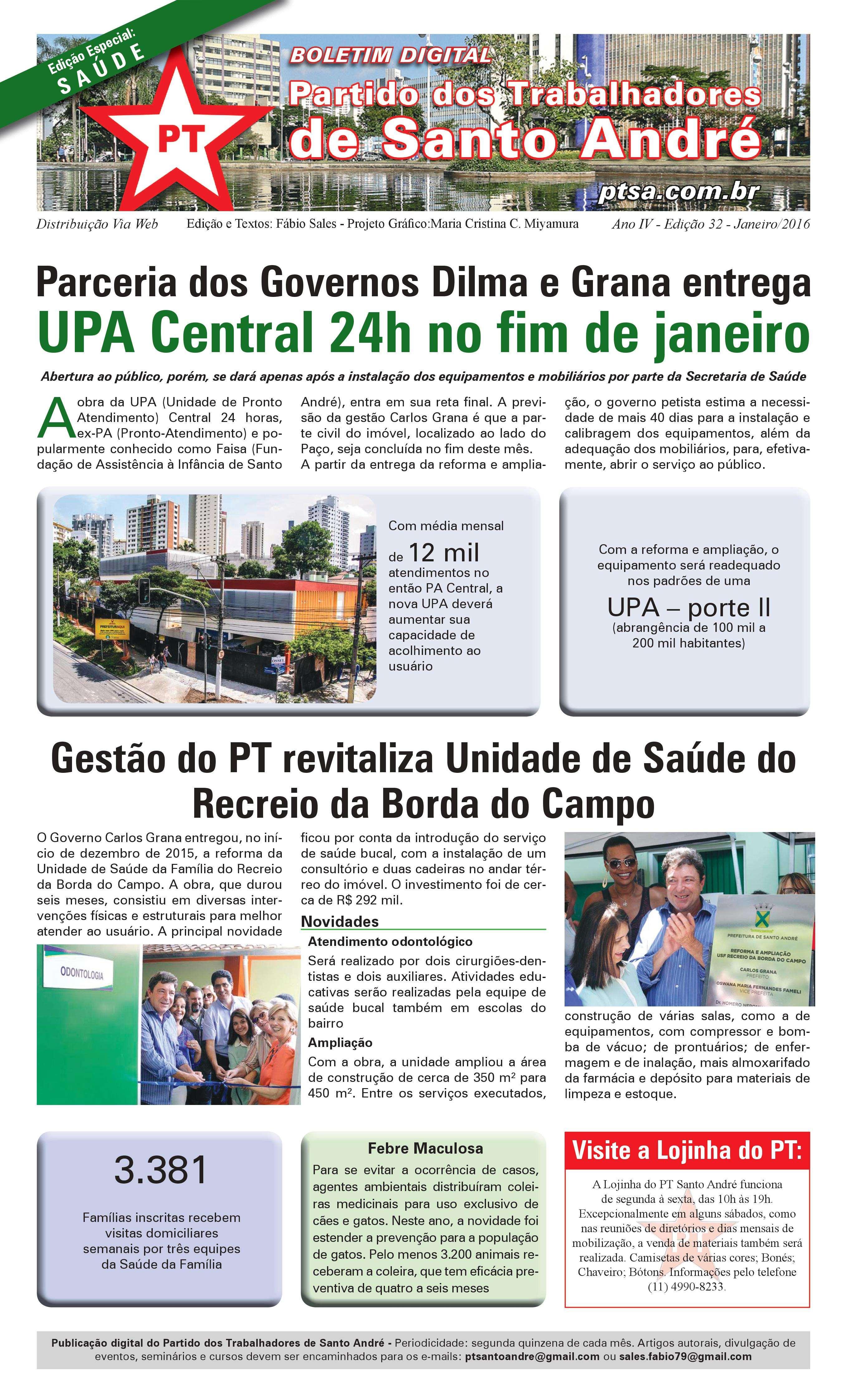 Boletim 32 - PT Santo André