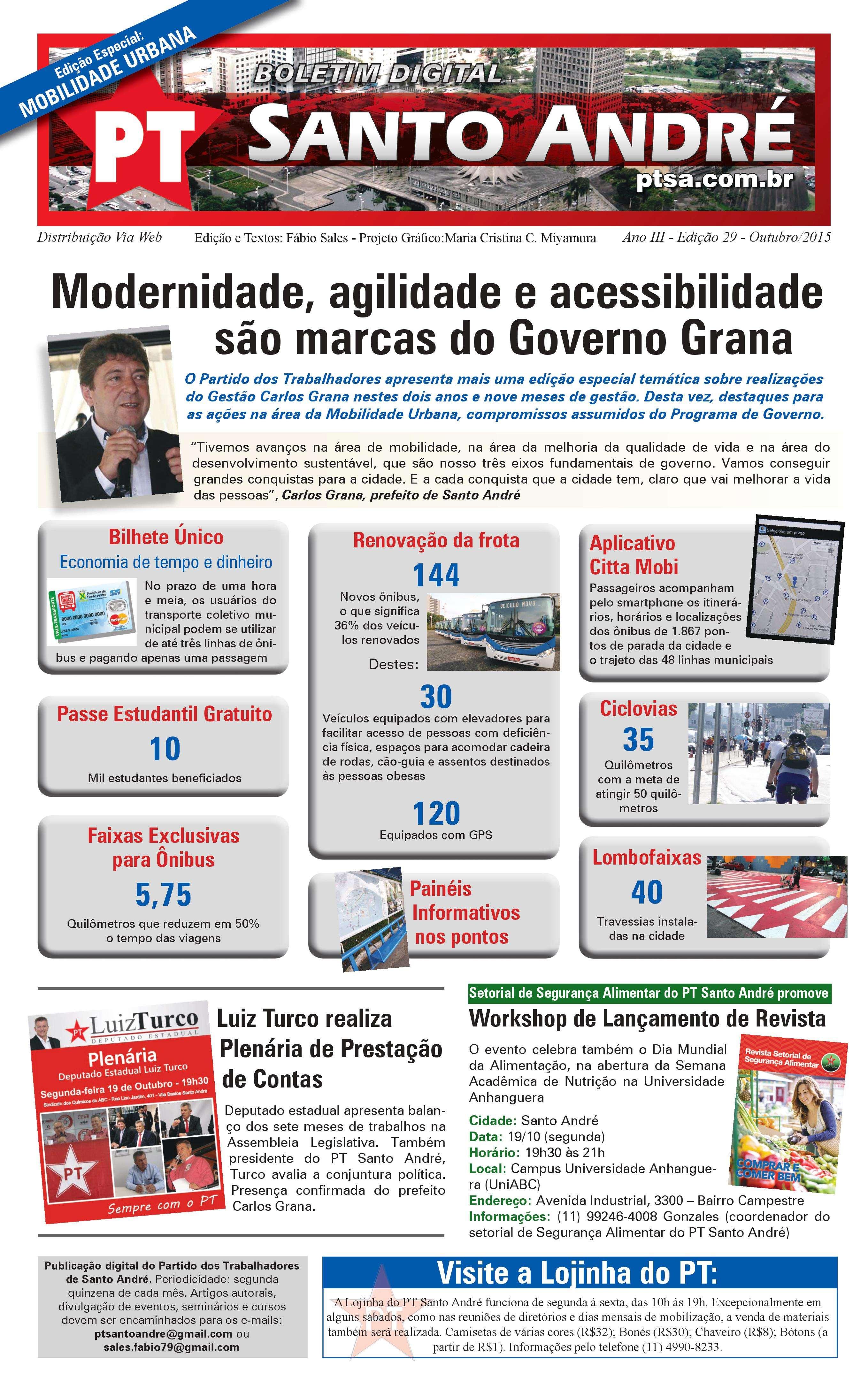 Boletim PTSA Edição 29