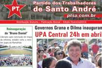 Deputado Luiz Turco destaca lançamento dos Boletins Regionais do PT de Santo André, confira o primeiro: