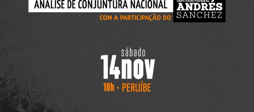 #DiadeMobilizaçãoPTSP: Macro Baixada Santista – Andrés Sanchez participa de #DiadeMobilizaçãoPTSP neste sábado (14)