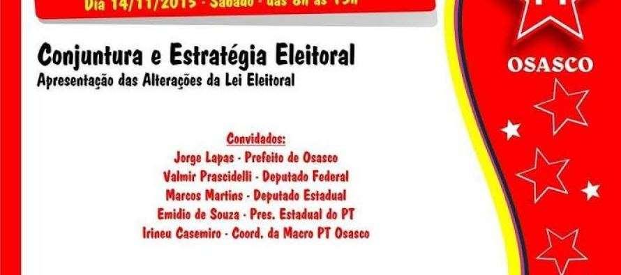 Macro Osasco: Com Emidio, deputados Geraldo Cruz e Valmir Prascidelli participam de #DiadeMobilizaçãoPTSP neste sábado (14)