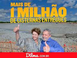 Dilma leva água a 12 milhões de nordestinos