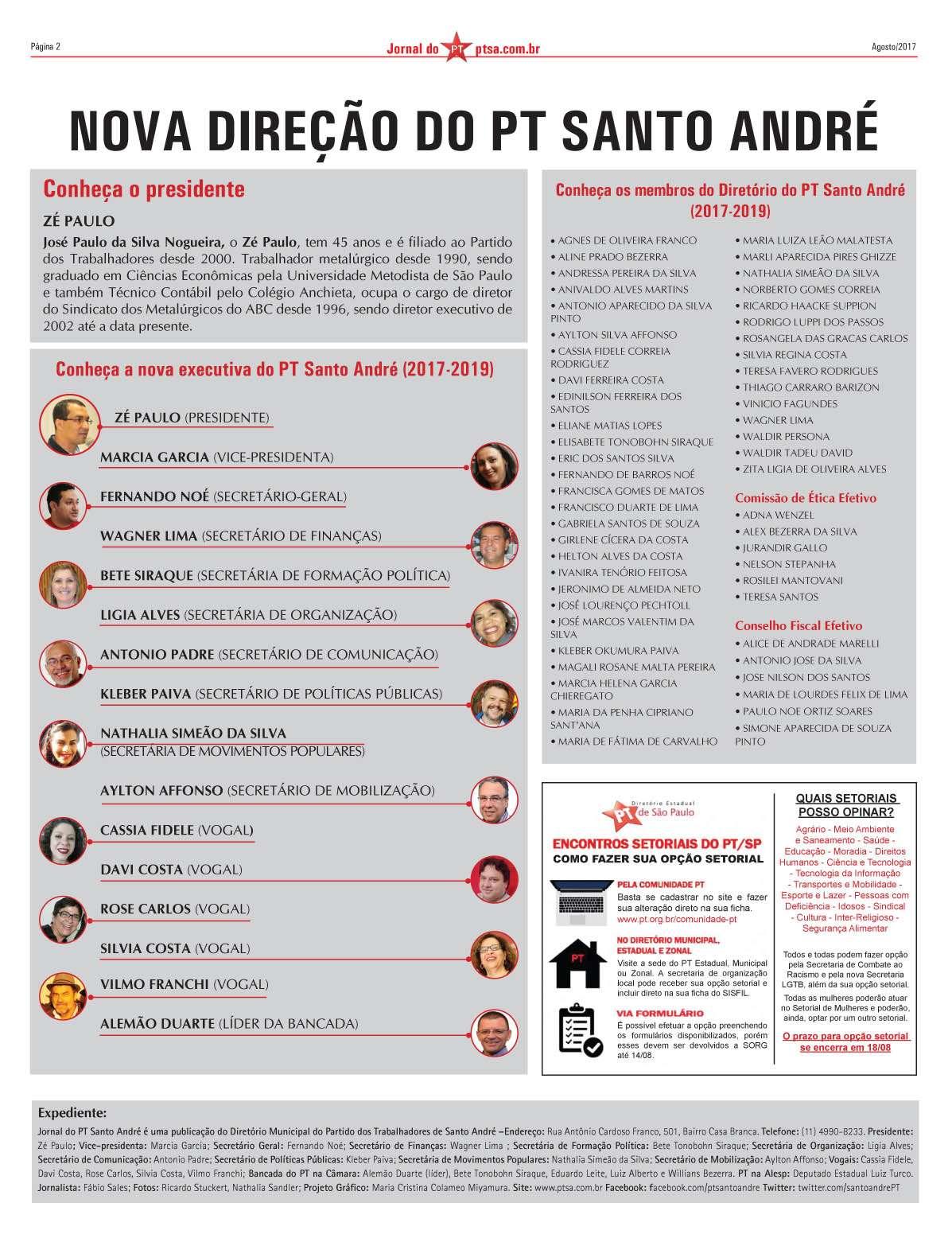 Jornal PT Agosto 2017-2