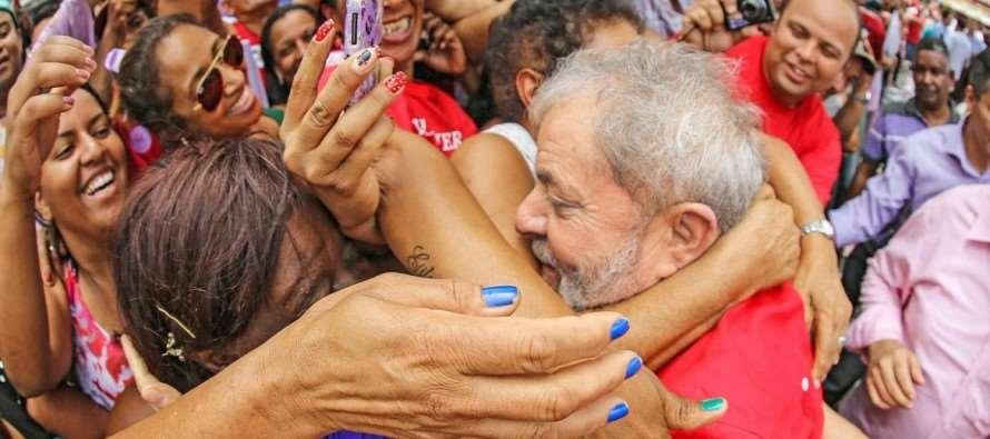Lula é considerado o melhor presidente que o Brasil já teve por 55% da população