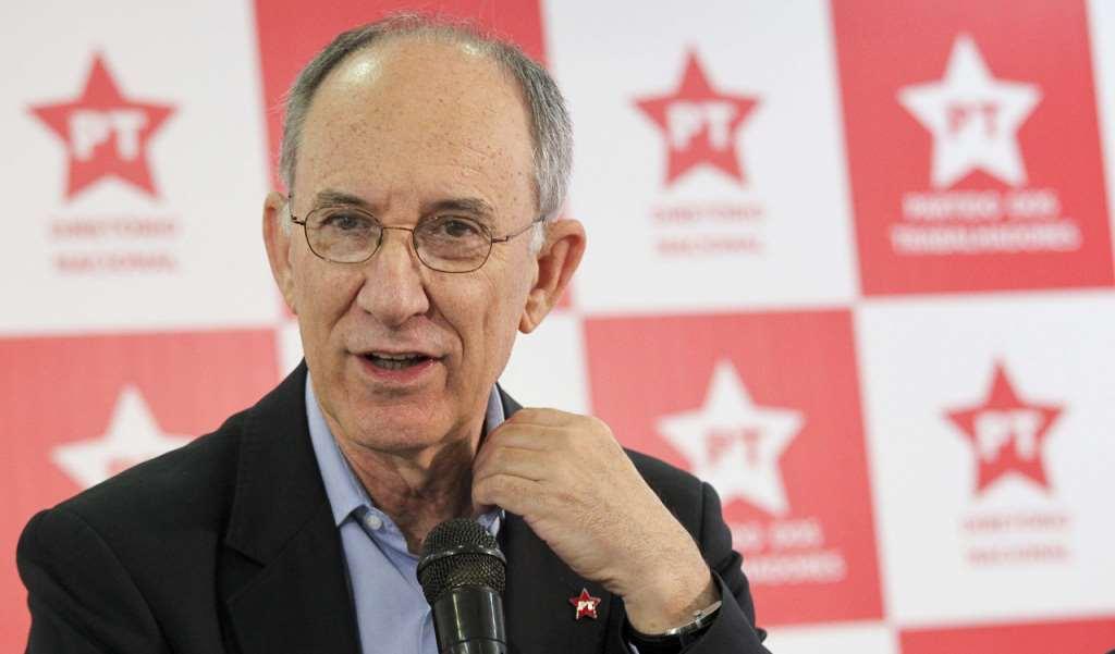 O presidente nacional do PT, Rui Falcão