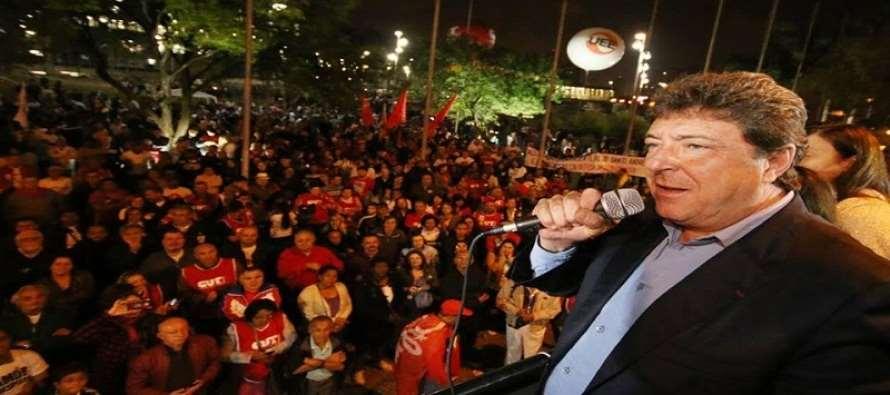 Na defesa da democracia, Santo André reúne mais de 3 mil pessoas