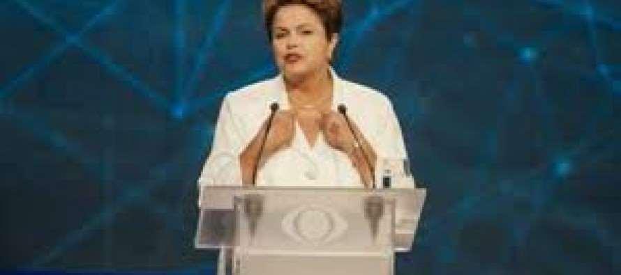 """""""Nosso compromisso é fazer o Brasil avançar cada vez mais"""", diz #Dilma"""