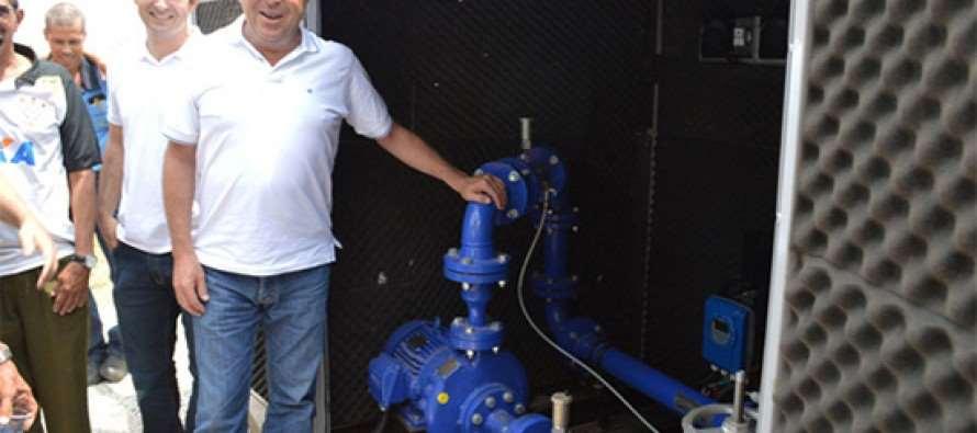 #GovernoGrana: Prefeito Grana leva água de qualidade ao Jardim Primavera