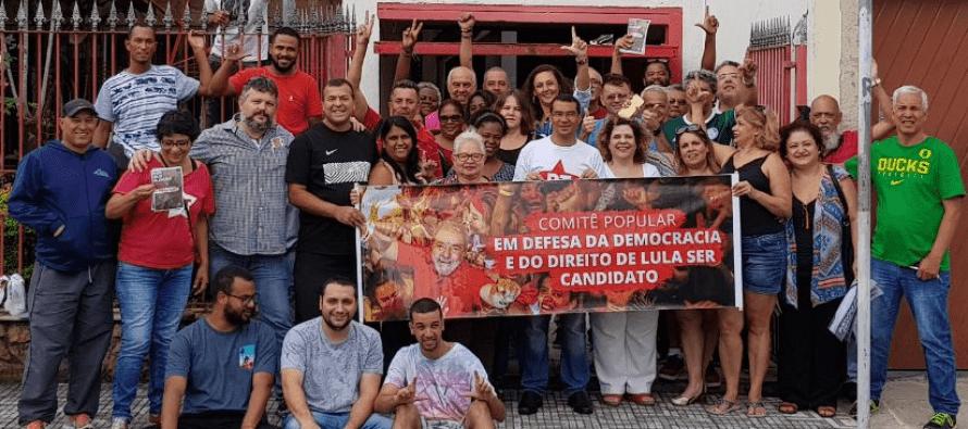 PT Santo André lança Comitês Populares em defesa da democracia e de Lula