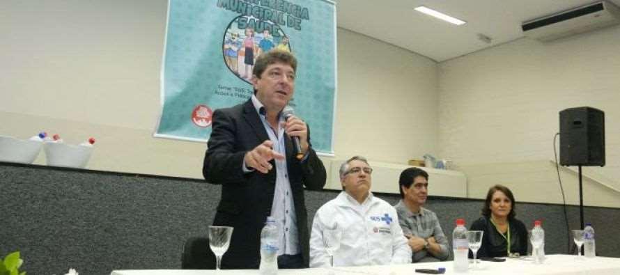 #GovernoGrana: Ex-ministro Alexandre Padilha participa da 14ª Conferência da Saúde