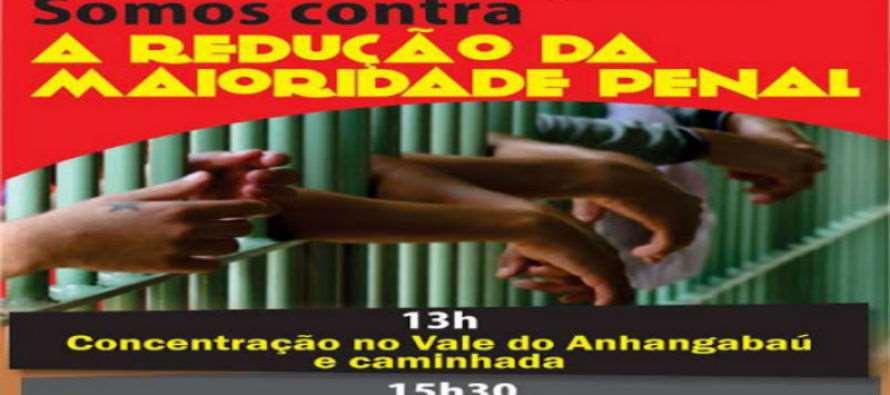 (13/07) – Ato dos 25 anos do ECA e luta contra a Redução da Idade Penal