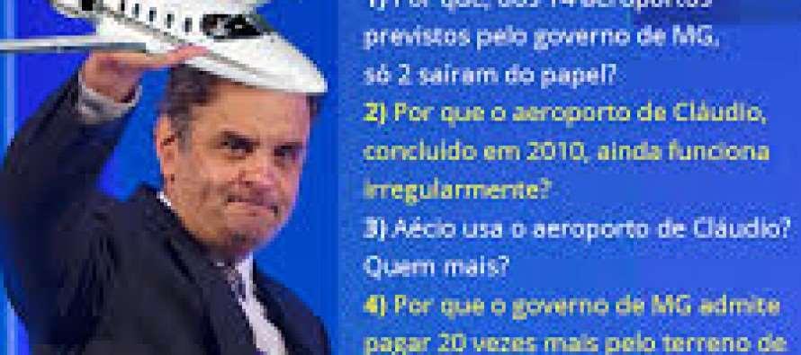 Em debate, #Dilma indaga Aécio sobre aeroporto em Claudio