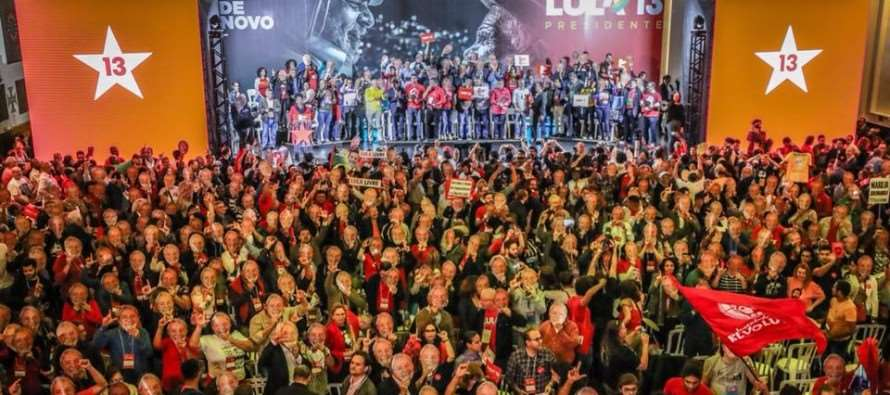 Lula é confirmado candidato a Presidente