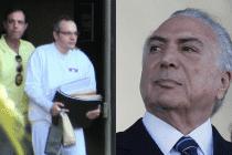 Funaro confirma que golpista Temer ganhou propina nos esquemas de Eduardo Cunha